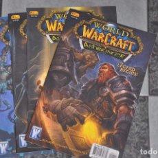 Cómics: WORLD OF WARCRAFT , ASHBRINGER - LOTE DE 4 COMICS . 1-2-3-4 - WILDSTORM. Lote 90644655
