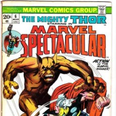 Cómics: THE MIGHTY THOR STARRING IN MARVEL SPECTACULAR #6 . Lote 90775380