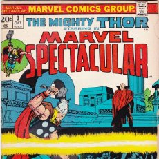 Cómics: MARVEL SPECTACULAR #3 OCT 1973 THOR. Lote 90775450