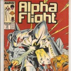 Comics : ALPHA FLIGHT. Nº 73. MARVEL. ORIGINAL USA. (ST). Lote 90830110