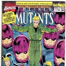 Cómics: NEW MUTANTS ANNUAL #6 (MARVEL COMICS 1990) 1ST BRIEF APPEARANCE SHATTERSTAR (VF) . Lote 90932985