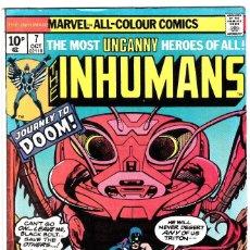 Cómics: THE INHUMANS #7 1976 . Lote 91001680