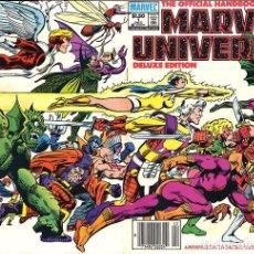 Cómics: OFFICIAL HANDBOOK OF MARVEL UNIVERSE COMPLETA TODOS LOS VOLÚMENES. Lote 91018195