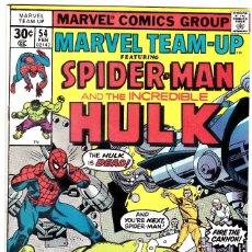 Cómics: MARVEL TEAM-UP SPIDERMAN AND THE HULK 1976 #54. Lote 91205380