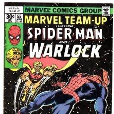 Cómics: MARVEL TEAM-UP SPIDERMAN AND WARLOCK 1976 #55. Lote 91205505