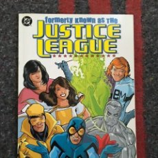 Cómics: JUSTICE LEAGUE - FORMERLY KNOWN AS THE JUSTICE LEAGUE - TPB - D1. Lote 91793290