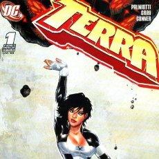 Cómics: TERRA MINISERIE COMPLETA Nº 1 AL 4 DC COMICS 2009 PALMIOTTI, GRAY Y AMANDA CONNER. Lote 92739860
