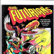 Cómics: THE FUTURIANS. DAVE COCKRUM. MARVEL GRAPHIC NOVEL N° 9. 1983. . Lote 92953865