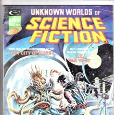 Cómics: UNKNOWN WORLDS OF SCIENCE FICTION (1975) #4. Lote 93795480