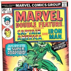Fumetti: MARVEL DOUBLE FEATURE # 8 ( 1975 ) CAPTAIN AMERICA AND IRON MAN. Lote 94093070