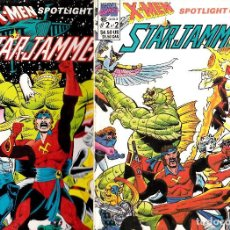 Cómics: X-MEN SPOTLIGHT ON... STARJAMMERS #1 AND #2 COMPLETE!. Lote 199073918