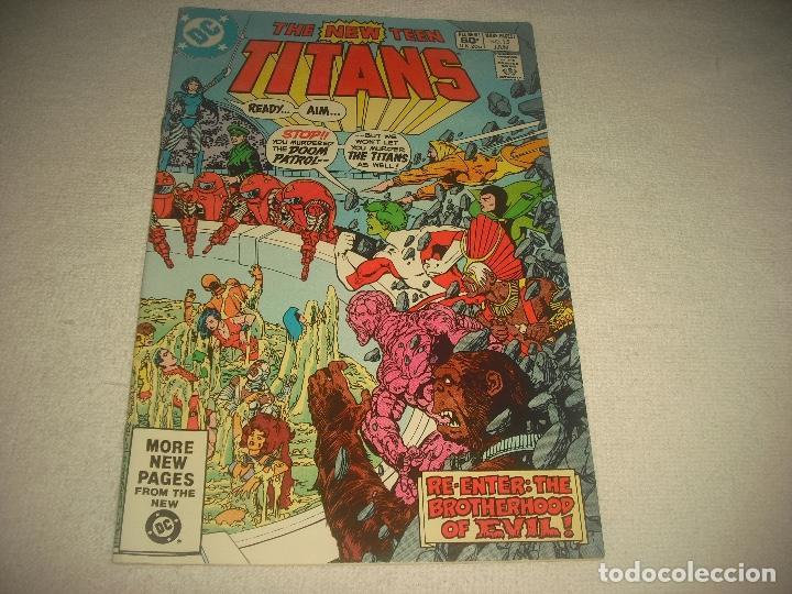 THE NEW TEEN TITANS DC. N° 15 , 1982 (Tebeos y Comics - Comics Lengua Extranjera - Comics USA)