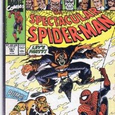 Cómics: COMIC MARVEL USA 1990 SPECTACULAR SPIDERMAN 161 EXCELENTE ESTADO ( GERRY CONWAY - SAL BUSCEMA ). Lote 94920831