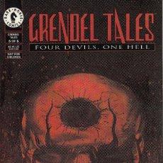 Cómics: COMPLETA - GRENDEL TALES: FOUR DEVILS ONE HELL # 1 AL 6 (DARK HORSE,1993) - TEDDY KRISTIANSEN. Lote 94937827