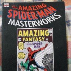 Cómics: TOMO THE AMAZING SPIDER-MAN MASTERWORKS VOL. 1 STAN LEE STEVE DITKO. Lote 95120207