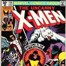 Cómics: UNCANNY X-MEN VOL.1 # 139 (MARVEL,1980) - ALPHA FLIGHT - JOHN BYRNE. Lote 95219967