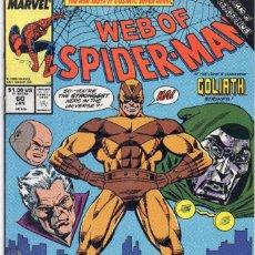 Cómics: COMIC MARVEL USA 1990 WEB OF SPIDERMAN 60 EXCELENTE ESTADO ( GERRY CONWAY - ALEX SAVIUK ). Lote 95291307