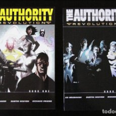 Cómics: THE AUTHORITY. REVOLUTION. BOOK 1 & BOOK 2. ED BRUBAKER, DUSTIN NGUYEN, RICHARD FRIEND. WILDSTORM.. Lote 95489967