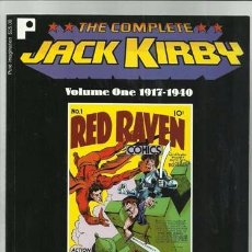 Comics: THE COMPLETE JACK KIRBY VOLUME ONE 1917-1940, 1997, IMPECABLE. Lote 95511735