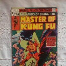 Cómics: SHANG - CHI - MASTER OF KUNG FU 63. Lote 95547311