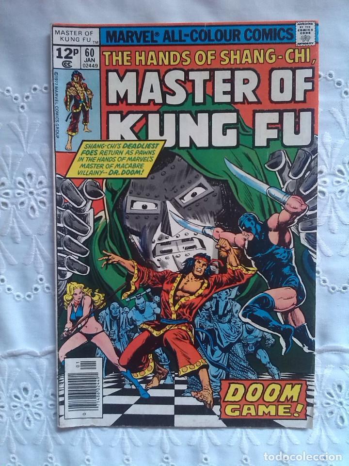 MASTER OF KUNG FU 60 (Tebeos y Comics - Comics Lengua Extranjera - Comics USA)