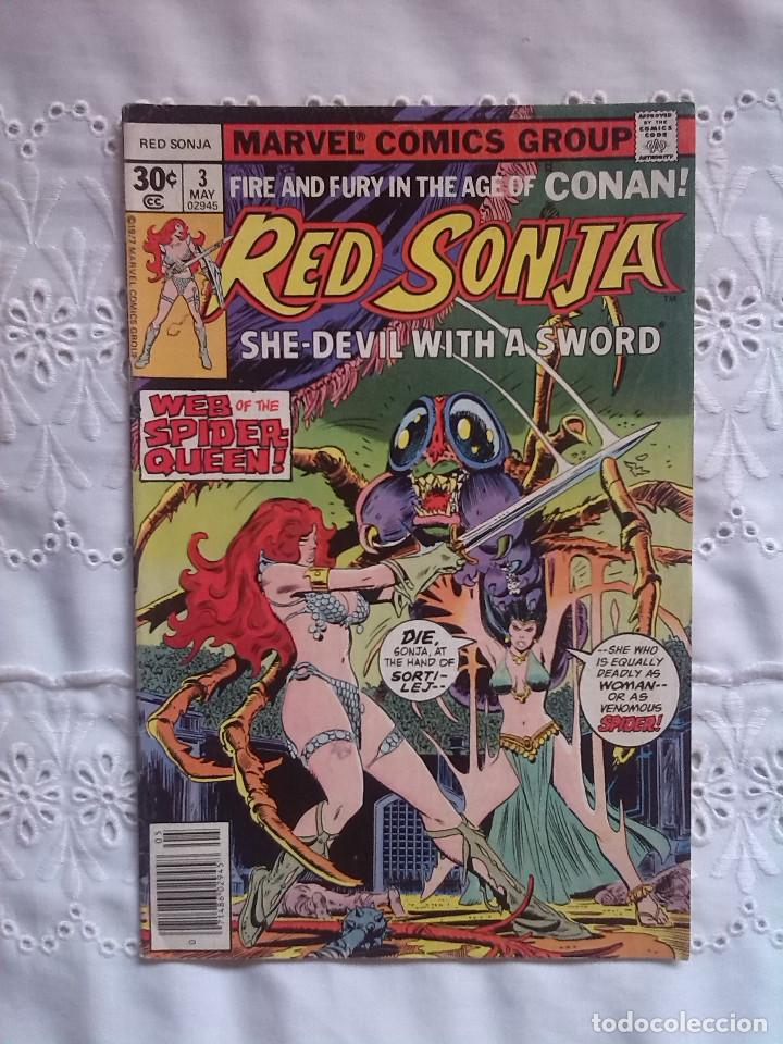 RED SONJA 3 (Tebeos y Comics - Comics Lengua Extranjera - Comics USA)