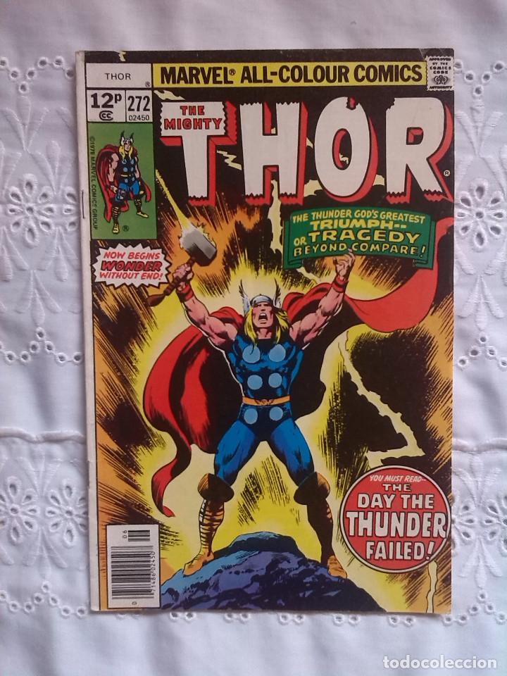 THOR 272 (Tebeos y Comics - Comics Lengua Extranjera - Comics USA)