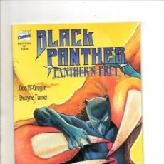 Cómics: BLACK PANTHER : PANTHER'S PREY 4 - MARVEL 1991 - NM. Lote 95591031