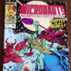 Cómics: THE MICRONAUTS N 56 USA AÑO 1984. Lote 95737523
