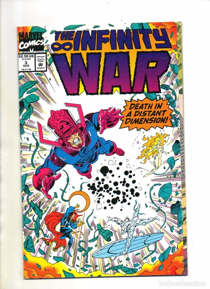 infinity war 3 - marvel 1992 - vfn/nm 9.0 - comprar comics usa