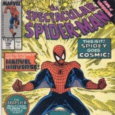 Cómics: COMIC MARVEL USA 1989 SPECTACULAR SPIDERMAN 158 EXCELENTE ESTADO ( GERRY CONWAY - SAL BUSCEMA ). Lote 96011287