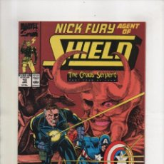 Cómics: NICK FURY AGENT OF SHIELD 10 - MARVEL 1990 VFN/NM. Lote 96017639