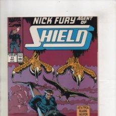 Cómics: NICK FURY AGENT OF SHIELD 11 - MARVEL 1990 VFN/NM. Lote 96017719