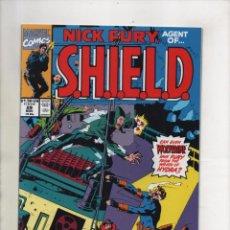 Cómics: NICK FURY AGENT OF SHIELD 29 - MARVEL 1991 VFN/NM. Lote 96017847