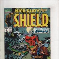 Cómics: NICK FURY AGENT OF SHIELD 30 - MARVEL 1991 VFN/NM. Lote 96017995