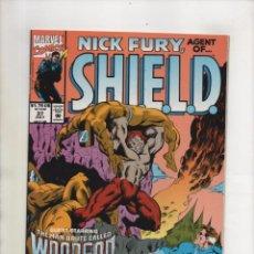 Cómics: NICK FURY AGENT OF SHIELD 37 - MARVEL 1992 VFN/NM. Lote 96018107