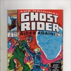 Cómics: ORIGINAL GHOST RIDER RIDES AGAIN 3 - MARVEL 1991 - VFN/NM. Lote 96022339