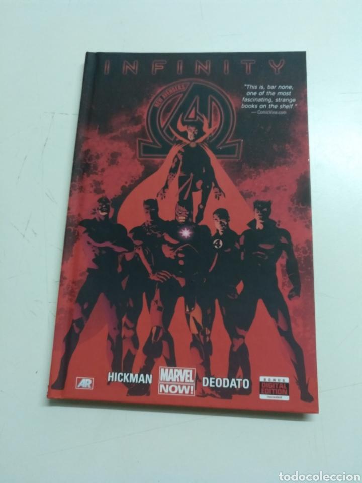 NEW AVENGERS VOL. 2 : INFINITY (MARVEL) (Tebeos y Comics - Comics Lengua Extranjera - Comics USA)