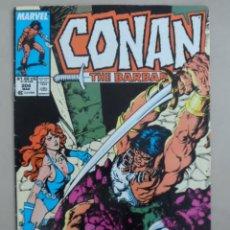 Cómics: CONAN THE BARBARIAN #204 - POSIBLE ENVÍO GRATIS - MARVEL - JIM OWSLEY & VAL SEMEIKS - 1988 - USA. Lote 96158879