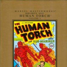 Cómics: MARVEL MASTERWORKS GOLDEN AGE THE HUMAN TORCH TOMOS 01 AL 03 HC - MARVEL COMICS. Lote 96176891