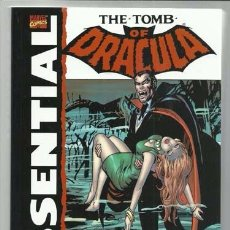 Cómics: THE TOMB OF DRACULA ESSENTIAL VOL. 1, 2003, IMPECABLE. Lote 96204899