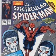 Cómics: COMIC MARVEL 1989 SPECTACULAR SPIDERMAN 159 EXCELENTE ESTADO ( GERRY CONWAY - SAL BUSCEMA ). Lote 96256851