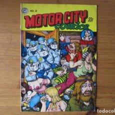 Cómics: ROBERT CRUMB - MOTOR CITY COMICS Nº 2 - 1970. Lote 96598771