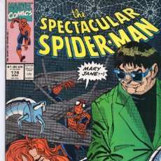 Cómics: COMIC MARVEL USA 1991 SPECTACULAR SPIDERMAN 174 EXCELENTE ESTADO ( GERRY CONWAY - SAL BUSCEMA ). Lote 96866531