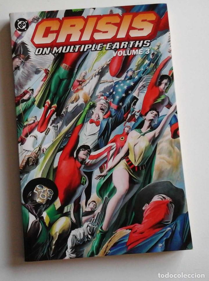 CRISIS ON MULTIPLE EARTH, TOMO 3, CON LAS CRISIS DE LEN WEIN Y DICK DILLON (Tebeos y Comics - Comics Lengua Extranjera - Comics USA)