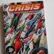 Cómics: CRISIS ON MULTIPLE EARTH, TOMO 3, CON LAS CRISIS DE LEN WEIN Y DICK DILLON. Lote 97002991