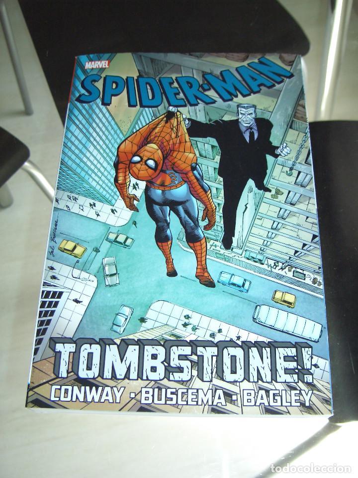 SPIDERMAN TOMBSTONE TPB - GERRY CONWAY - SAL BUSCEMA (Tebeos y Comics - Comics Lengua Extranjera - Comics USA)