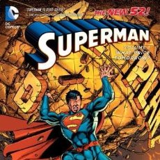Cómics: SUPERMAN THE NEW 52! VOL. 1 WHAT PRICE TOMORROW? TPB GEORGE PEREZ DC COMICS NUEVO. Lote 97038715