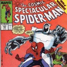 Cómics: COMIC MARVEL USA 1990 SPECTACULAR SPIDERMAN 160 (EXCELENTE ESTADO). Lote 97058339