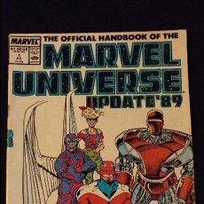 Cómics: MARVEL UNIVERSE Nº 1 JUL 89 ESTADO BUENO . Lote 97160375